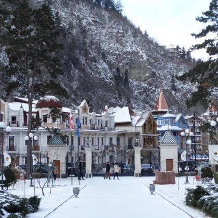 One day winter tour in Borjomi